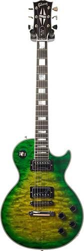 Gibson Custom Shop Les Paul Custom Quilt Iguana Burst with Ebony Fingerboard