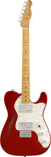Fender Vintera 70s Telecaster Thinline Candy Apple Red MN