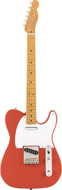 Fender Vintera 50s Telecaster Fiesta Red Maple Fingerboard