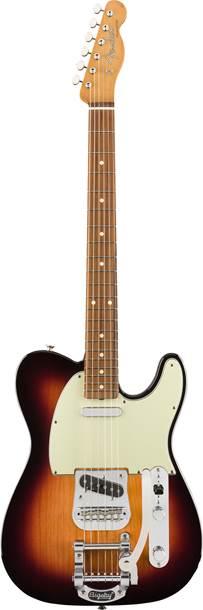Fender Vintera 60s Telecaster Bigsby 3-Color Sunburst Pau Ferro Fingerboard