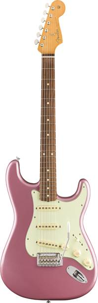 Fender Vintera 60s Stratocaster Modified Burgundy Mist Metallic Pau Ferro Fingerboard