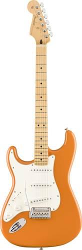 Fender Player Stratocaster Capri Orange Left Handed Maple Fingerboard