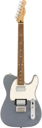 Fender Player Tele HH Silver  PF