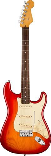 Fender American Ultra Stratocaster Plasma Red Burst RW