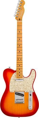 Fender American Ultra Telecaster Plasma Red Burst MN