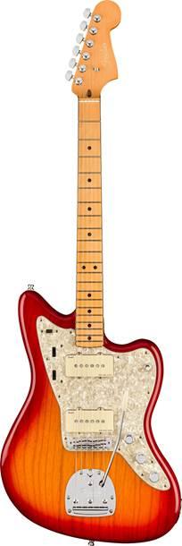 Fender American Ultra Jazzmaster Plasma Red Burst MN