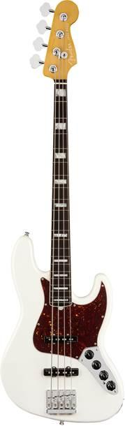 Fender American Ultra Jazz Bass Arctic Pearl Rosewood Fingerboard