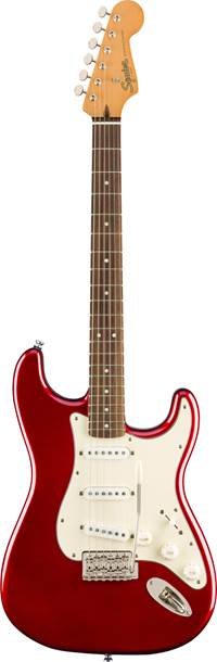 Squier Classic Vibe 60s Stratocaster Candy Apple Red Indian Laurel Fingerboard
