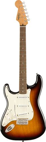 Squier Classic Vibe 60s Stratocaster 3 Tone Sunburst Indian Laurel Fingerboard Left Handed