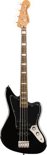 Squier Classic Vibe Jaguar Bass Black Indian Laurel Fingerboard