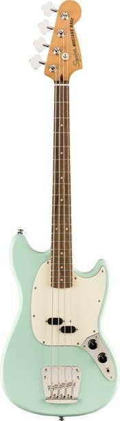 Squier Classic Vibe 60s Mustang Short Scale Bass Sea Foam Green Indian Laurel Fingerboard