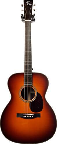 Santa Cruz OM Custom Model Indian Rosewood/ Adirondack Dark Sunburst Finish #5645