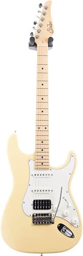 Suhr Classic S Vintage Yellow HSS Maple Fingerboard