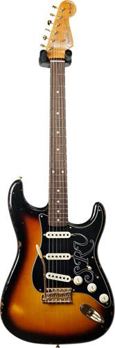 Fender Custom Shop Stevie Ray Vaughan Strat Relic Faded 3-Color Sunburst #CZ544065