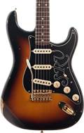 Fender Custom Shop Stevie Ray Vaughan Strat Relic Faded 3-Color Sunburst #CZ543969