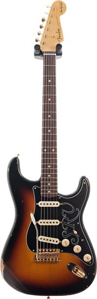 Fender Custom Shop Stevie Ray Vaughan Strat Relic Faded 3-Color Sunburst #CZ543969