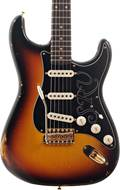 Fender Custom Shop Stevie Ray Vaughan Strat Relic Faded 3-Color Sunburst #CZ544024