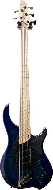 Dingwall Combustion 5 String Quilted Maple Indigoburst MN #4950