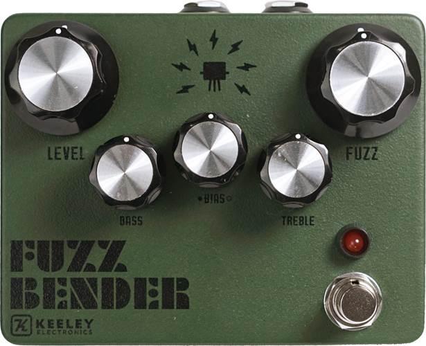 Keeley Custom Fuzz Bender Army Green (Ex-Demo) #01470