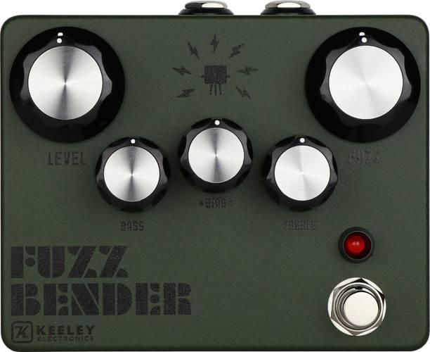 Keeley Custom Fuzz Bender Army Green
