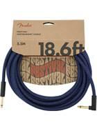 Fender Festival 18.6ft Instrument Cable, Blue Dream