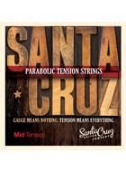 Santa Cruz Parabolic Tension Acoustic Strings Mid Tension