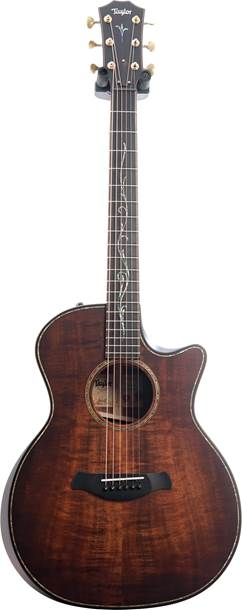 Taylor K24ce Builder's Edition, All-Koa, Kona Burst #1108219119