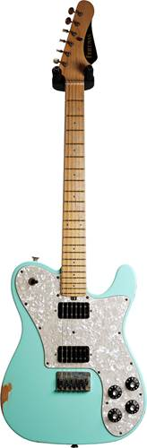 Friedman Vintage T Alder Surf Green MN Aged Pearl Pick Guard #0818-795
