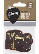 Gibson Gibson Picks Standard Celluloid Medium Plectrums APRT12-74M