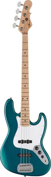 G&L USA Fullerton Standard JB Bass Emerald Blue Metallic MN