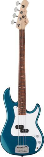 G&L USA Fullerton Standard LB-100 Emerald Blue Metallic CR