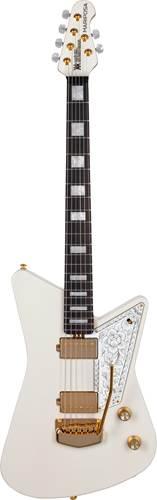 Music Man Mariposa Guitar Imperial White Gold Hardware