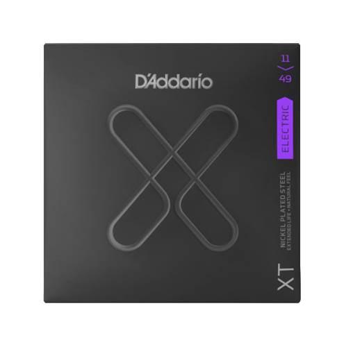 D'Addario XT Medium Electric Nickel Plated Steel 11-49