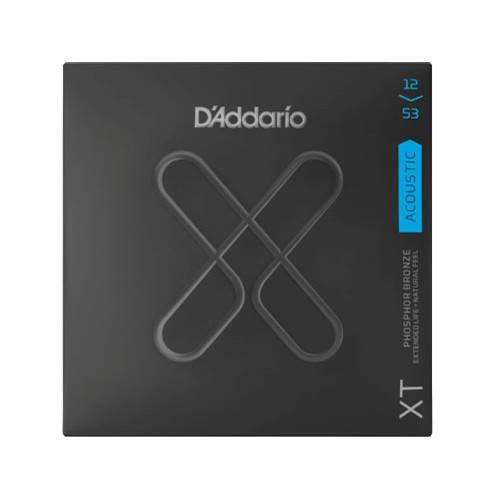 D'Addario XT Light Acoustic Phosphor Bronze 12-53