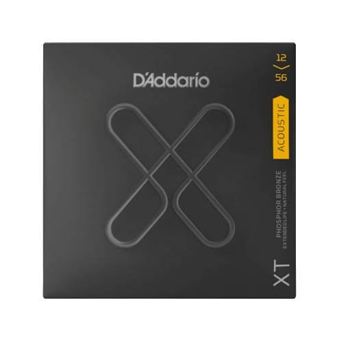 D'Addario XT Light Top/Medium Bottom Acoustic Phosphor Bronze 12-56