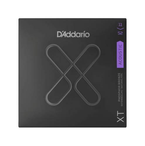 D'Addario XT Custom Light Acoustic Phosphor Bronze 11-52