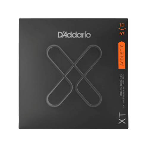 D'Addario XT Extra Light Acoustic 80/20 Bronze 10-47