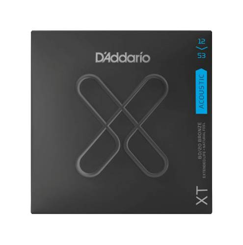 D'Addario XT Light Acoustic 80/20 Bronze 12-53