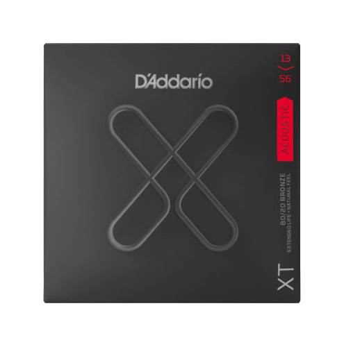 D'Addario XT Medium Acoustic 80/20 Bronze 13-56