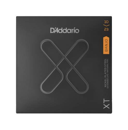 D'Addario XT Medium Banjo Nickel Plated Steel 10-23