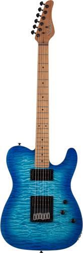 Schecter PT PRO Maple Fretboard Trans Blue Burst