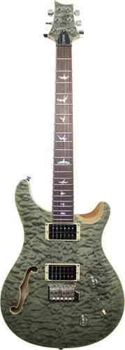 PRS SE Custom 22 Semi Hollow Trampas Green Ltd Edition
