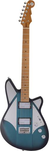 Reverend Signature Billy Corgan Satin Deep Sea Blue Burst