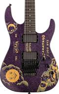 ESP LTD Limited Edition Kirk Hammett Ouija Purple Sparkle