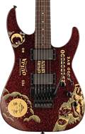 ESP LTD Limited Edition Kirk Hammet Ouija Red Sparkle