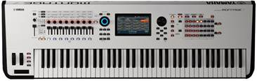 Yamaha Montage 7 White Limited Edition (Ex-Demo) #BAZJ01003