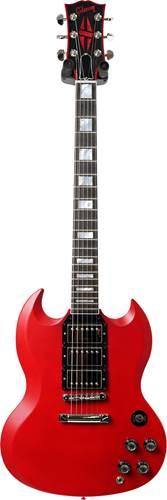 Gibson Custom Shop SG Custom 3 Pickup Red Mist Satin Chrome #080821