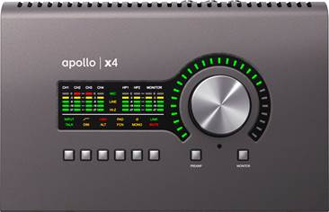 Universal Audio Apollo X4 Thunderbolt 3 Audio Interface