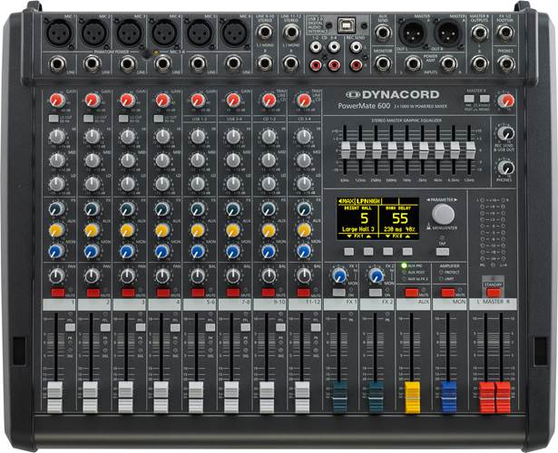 Dynacord Powermate 600-3 Powered Mixer