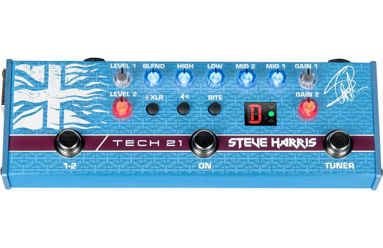 Tech 21 Steve Harris SH1 Signature Sansamp
